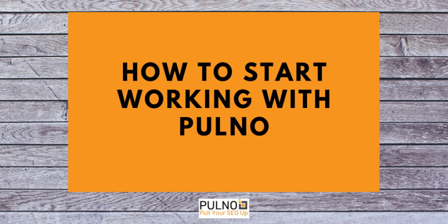 Title of Pulno article on an orange and wooden background