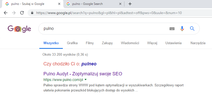 search results for Pulno in Polish
