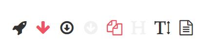 zestaw ikonek GSC